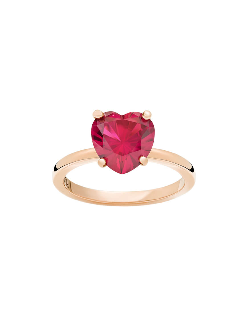 Dodo - 100% AMORE RING RG RUBY