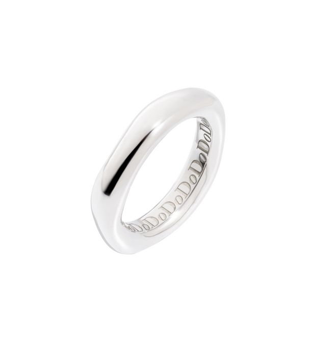 Dodo - IRREGULAR RING SILVER