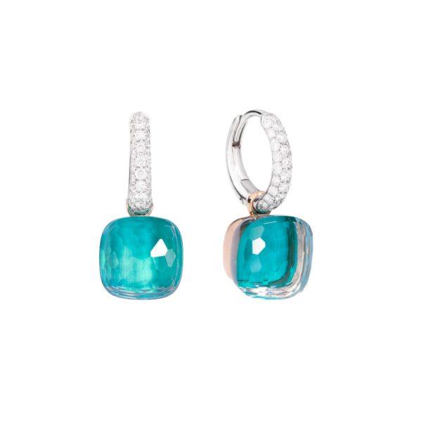 Pomellato Nudo Blue earrings