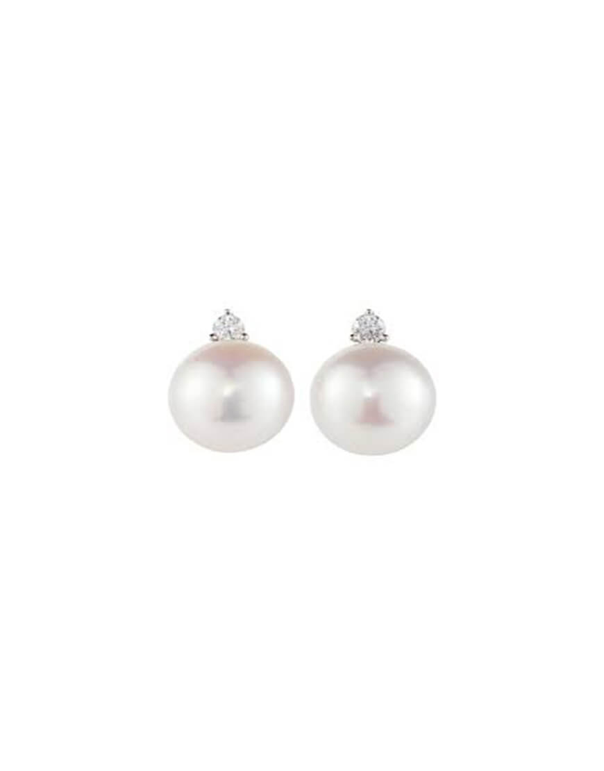 Schoeffel - EAR STUDS RG DIAMONDS FWP