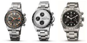 Tudor chronographs