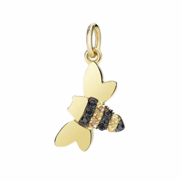 Dodo - SAPPHIRE & DIAMONDS CHARM BEE