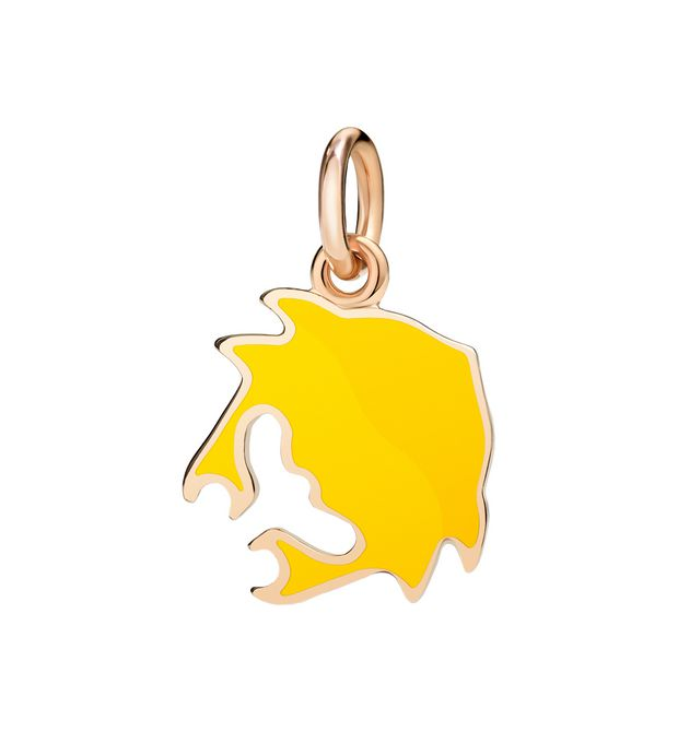Dodo - RG & YELLOW ENAMEL CRAB