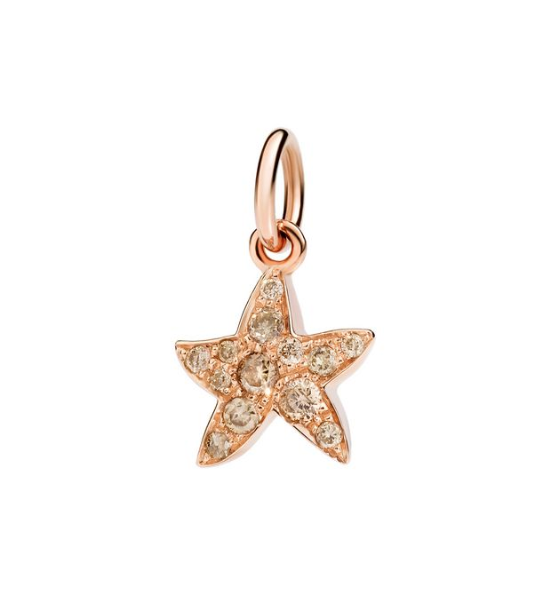 Dodo - RG CHARM STARFISH BROWN DIAM