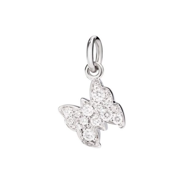 Dodo - WG & DIAMONDS CHARM BUTTERFLY