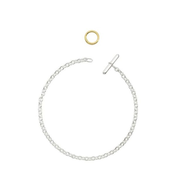 Dodo - ESSENTIALS SILVER CHAIN WITH TOGGLE RING