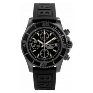 BREITLING SUPEROCEAN CHRONOGRAPH BLACKSTEEL