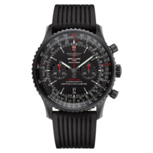 Breitling - NAVITIMER 01 BLACKSTEEL RUBBER FOLDING