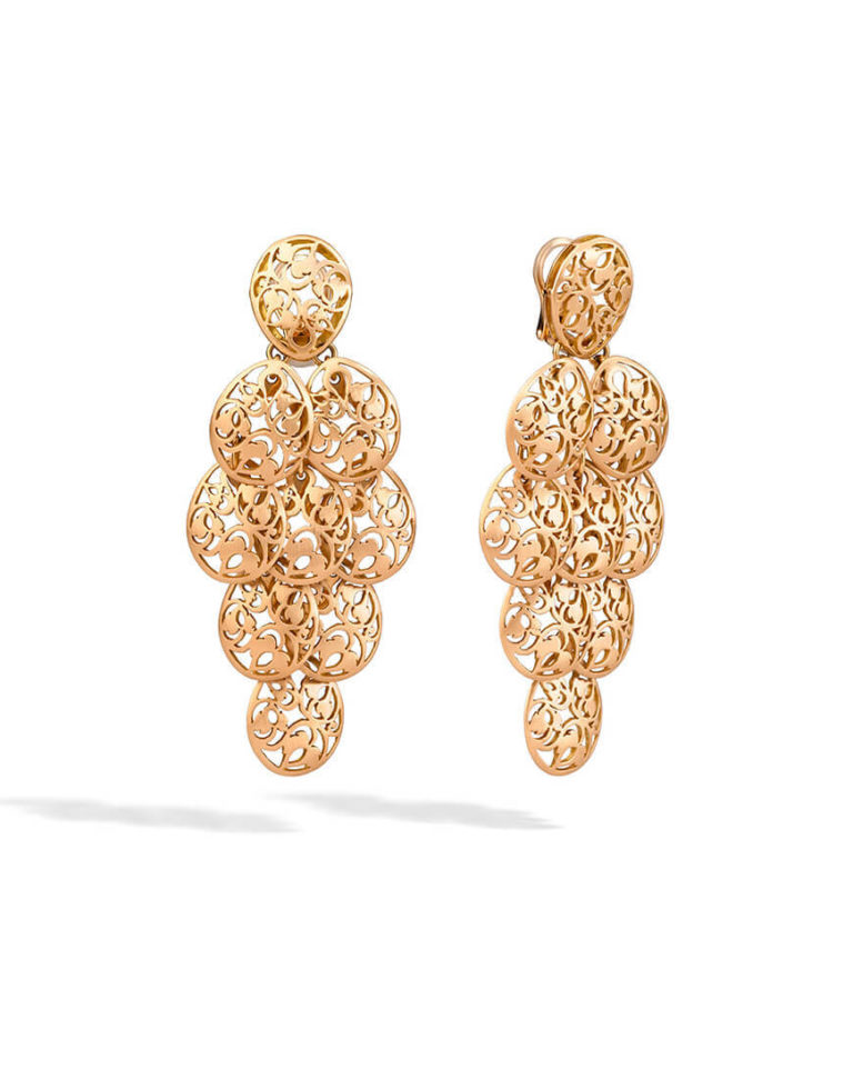 Pomellato - ARABESQUE EARRINGS MATT RG