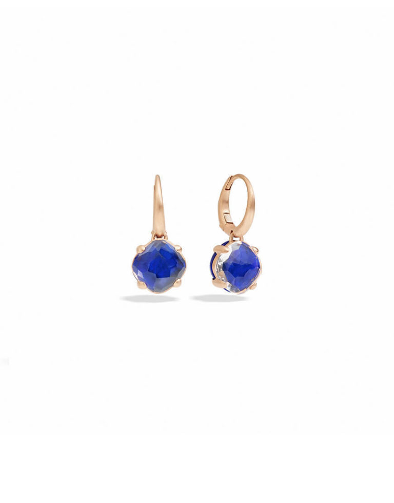 Pomellato - CAPRI EARRINGS SMALL LAPIS CRY