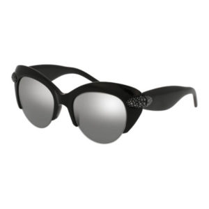 Pomellato - SUNGLASSES POM LAD BLK/SLV CAT EYE