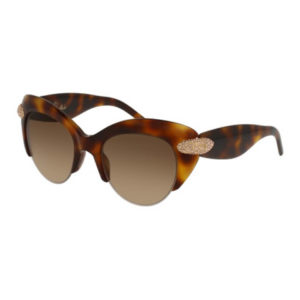Pomellato - SUNGLASSES POM LAD AVANA/BRN CAT EYE