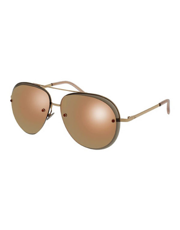 Pomellato - SUNGLASSES POM LAD METAL GD/PK AVIATOR