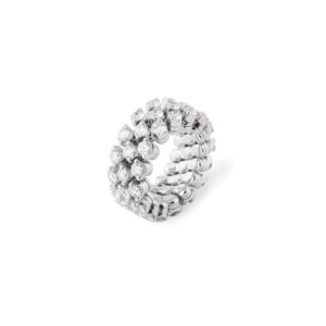 Serafino Consoli - RING MULTI SIZE WG 3.34CT