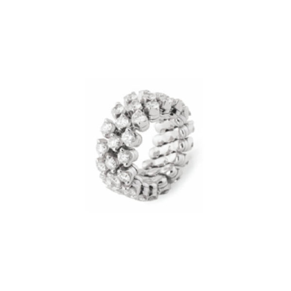 Serafino Consol - MULTI SIZE RING  WG 2.15CT