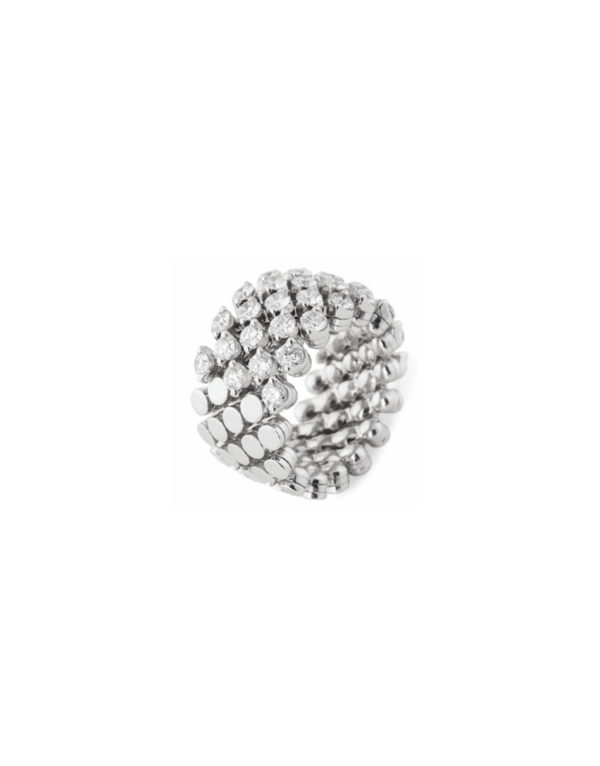 Serafino Consol - RING MULTI-SIZE WG 0.99CT
