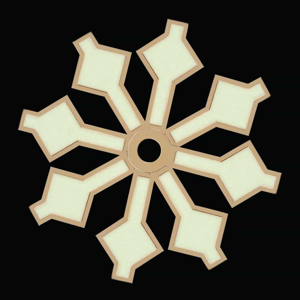 Tudor snowflake