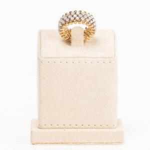 Serafino Consoli - BREVETTO RING ROSE GOLD & WHITE GOLD RMS-5M2 RWG WD