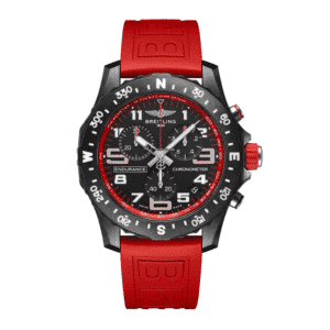 BREITLING ENDURANCE PRO in RED STRAP