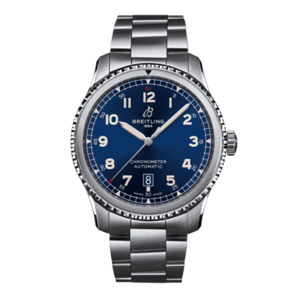 Aviator 8 Automatic 41 Stainless Steel