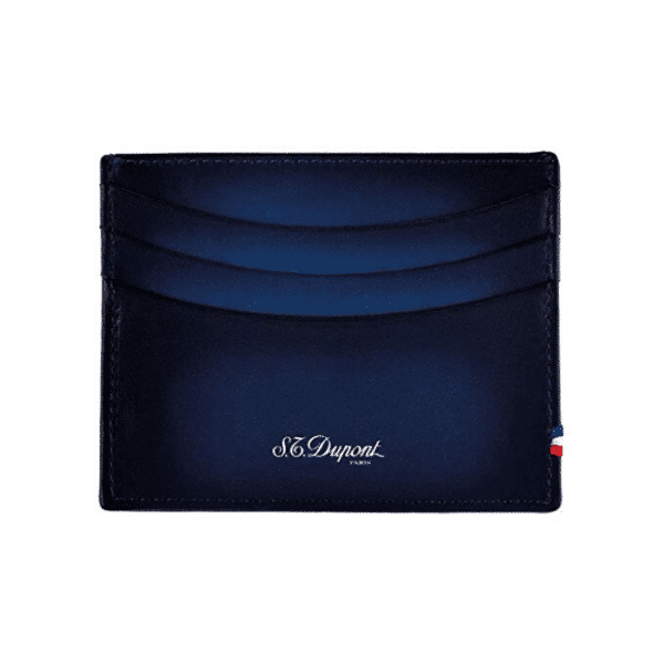 CARD HOLDER ATELIER NIGHT BLUE LEATHER 190412