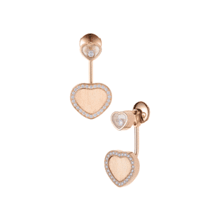 HAPPY HEARTS EARRINGS ROSE GOLD