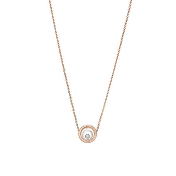HAPPY SPIRIT NECKLACE ROSE GOLD & WHITE GOLD 818230-9001