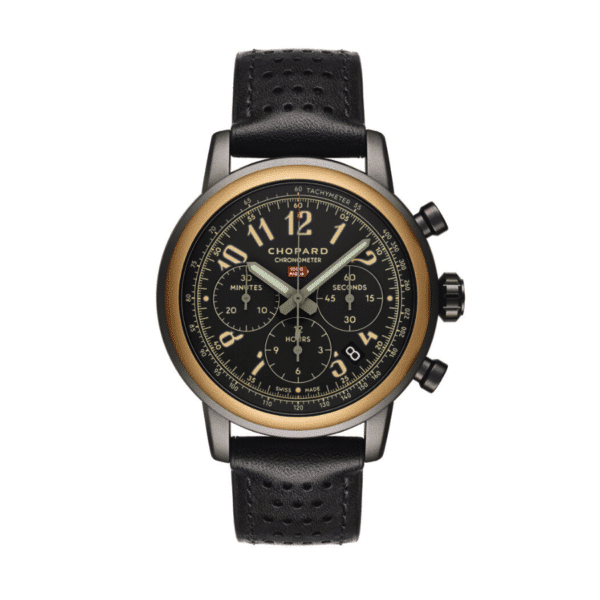 MILLE MIGLIA STEEL AND ROSE GOLD CHRONOGRAPH