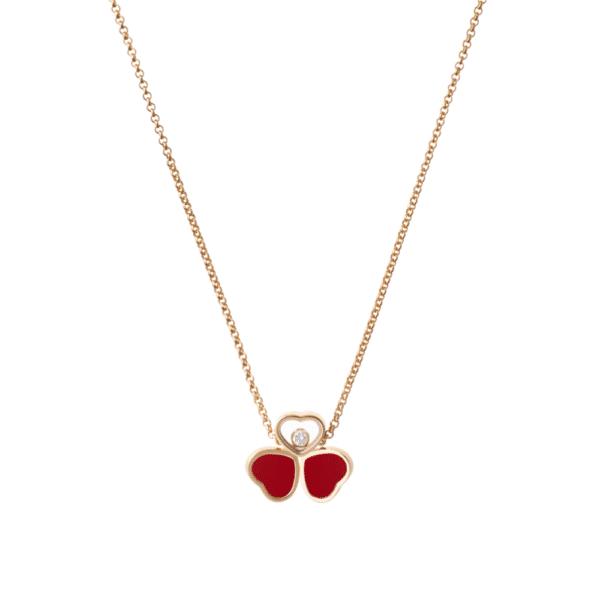 Chopard happy hearts necklace