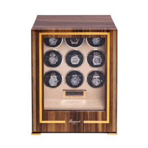 WALNUT 9 WATCH WINDER