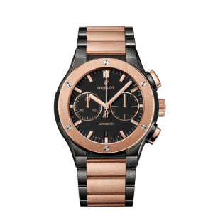 King Gold Chronograph