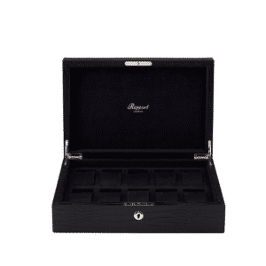 Rapport - BLACK LEATHER COLLECTOR WATCH BOX X10 L264
