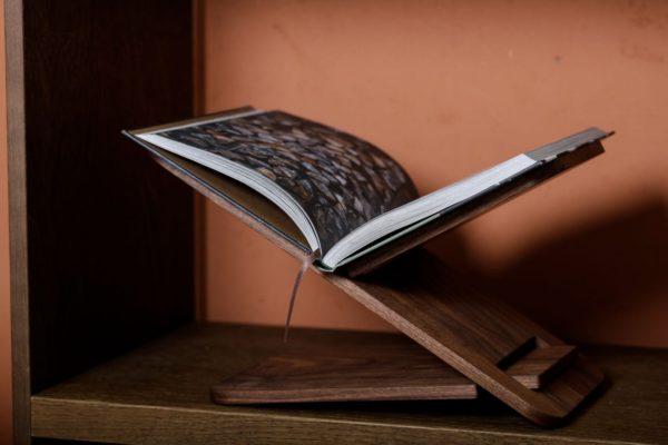 Bookstand Walnut
