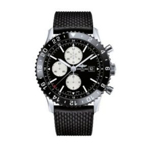 Breitling - CHRONOLINER, AUTO, ST,BLK DIAL