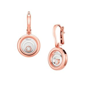 HAPPY SPIRIT EARRINGS ROSE GOLD & WHITE GOLD 838230-9001