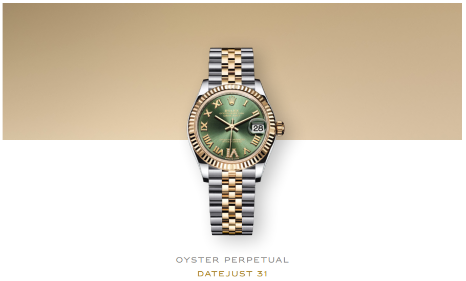 The Rolex Oyster Perpetual Datejust 31 range , Baselworld