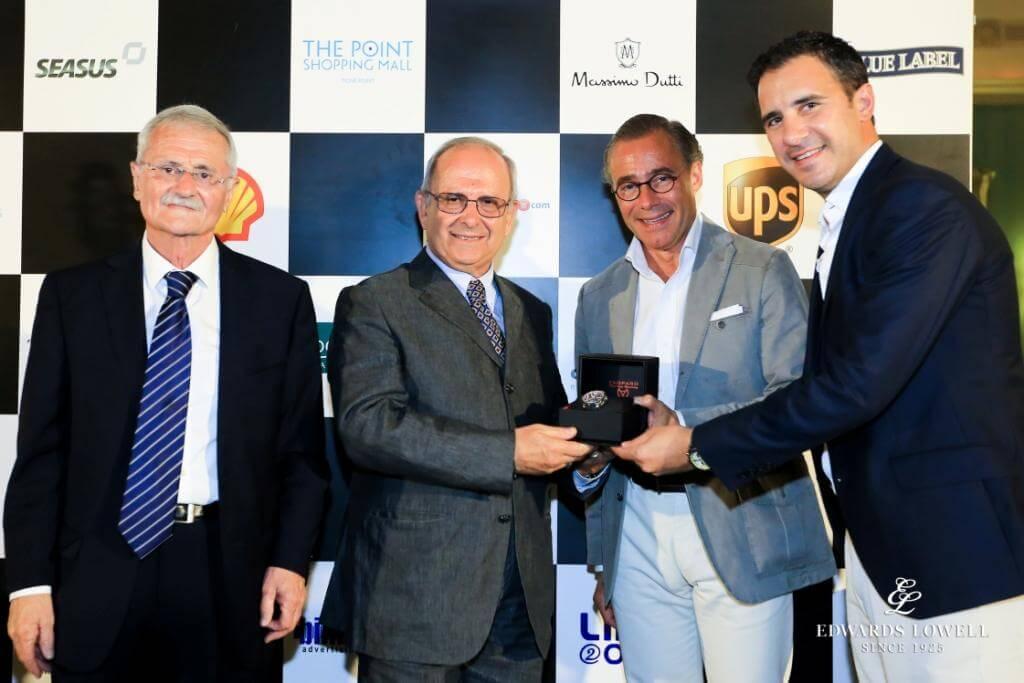 Winner of the Mdina Classic Car Grand Prix 2015