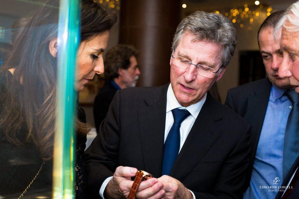 Michel Parmigiani - Parmigiani Fleurier - at the Edwards Lowell Event
