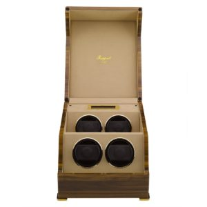 4 watch winder wallnut